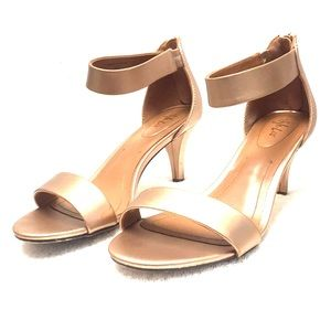 Style & Co Rose Gold small heel sandal